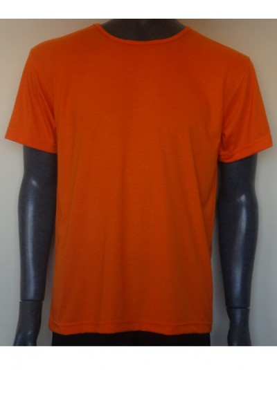 Camisa gola Vies (gola feita com a propria malha)